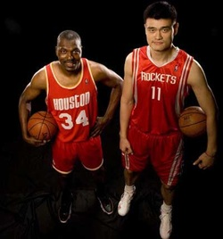 Hakeem and Yao