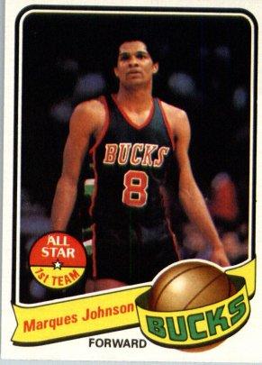 Marques Johnson card