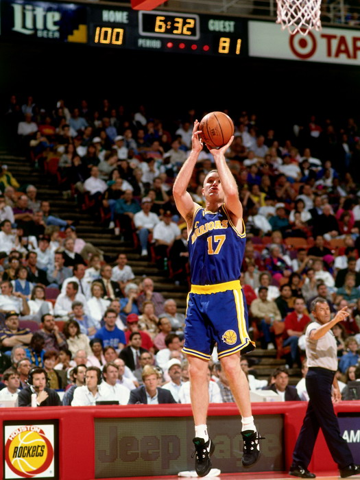 Chris Mullin Action Portrait