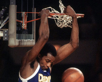 David Thompson dunk