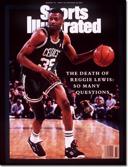Reggie Lewis SI cover