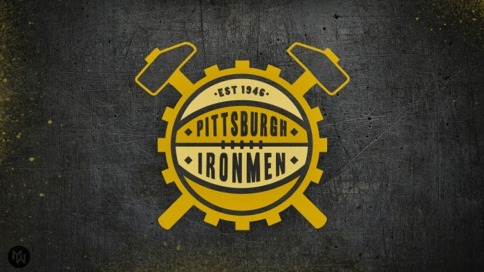 (A mock-up of what the Ironmen logo should have looked like. Illustration courtesy of Matthew Wolff)