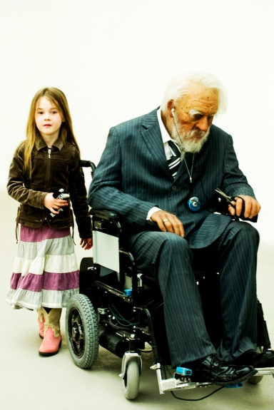 Saatchi Gallery - Young & Old (via Flickr user vintagedept)