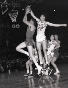 Celtics and Royals at the Basketball Hoop